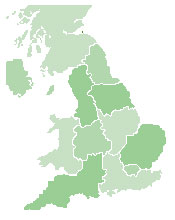 Map Of Uk Local Authorities.Schools Web Directory Uk
